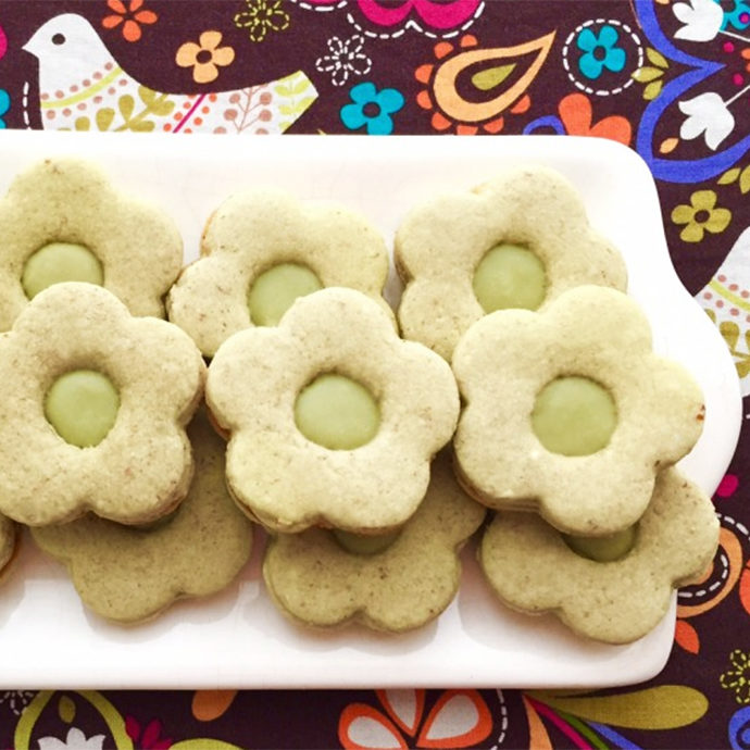 GALLETITAS DE MATCHA